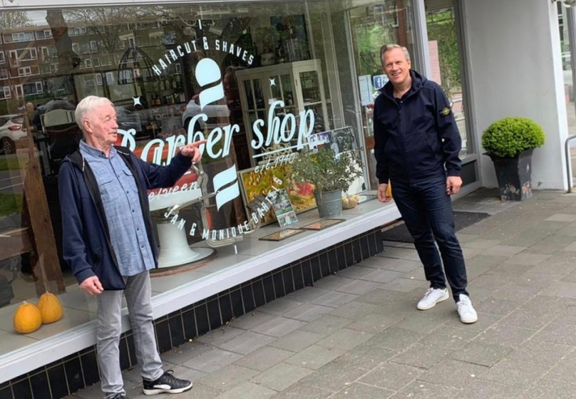 Corona-crisis: VVD bezoekt Barbershop Jan Bartels [Video]