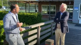 Corona-crisis: VVD in gesprek met hockeyvereniging Myra [Video]