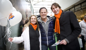 Video en fotoverslag Mark Rutte op campagne in Amstelveen