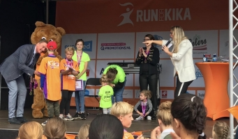 'Run for KiKa' in Amsterdamse bos levert 190.000 euro op